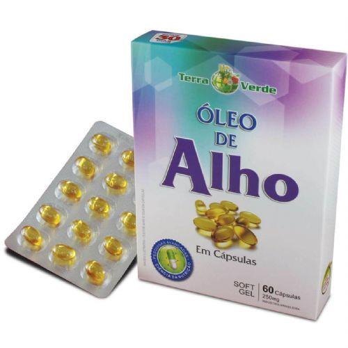 Óleo de Alho - 60 Cápsulas - Terra Verde no Atacado