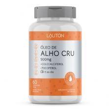Óleo de Alho Cru - 60 Cápsulas - Lauton Nutrition