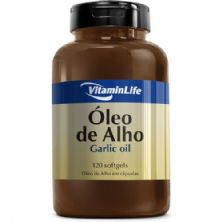 Oleo de Alho Garlic Oil 250mg - Alicina 120 cápsulas - VitaminLife