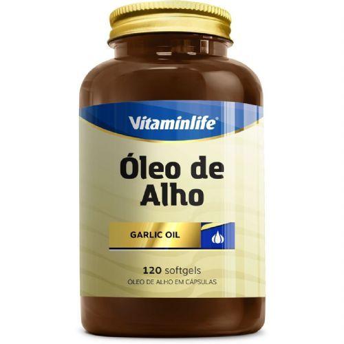Oleo de Alho Garlic Oil 250mg - Alicina 120 cápsulas - VitaminLife no Atacado