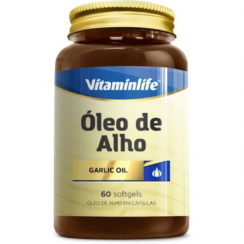 Oleo de Alho Garlic Oil 250mg - Alicina 60 cápsulas - VitaminLife no Atacado