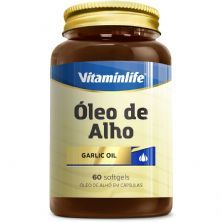 Oleo de Alho Garlic Oil 250mg - Alicina 60 cápsulas - VitaminLife