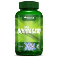 Óleo de Borragem - 60 Cápsulas - Herbamed