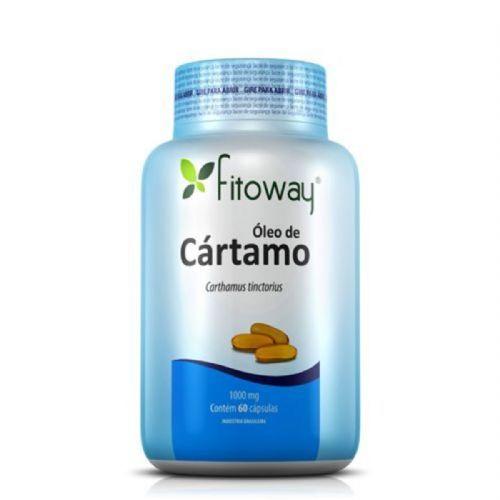 Oleo de Cartamo 1g - 60 Cápsulas - Fitoway no Atacado