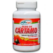 Óleo de Cártamo com Vitamina E - 60 Cápsulas - NutraCaps