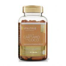 Óleo de Cártamo C/ Coco 1000mg - 60 Cápsulas - Upnutri