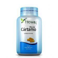 Oleo de Cartamo 1g - 60 Cápsulas - Fitoway