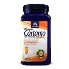 Óleo de Cártamo + Vitamina E 4000mg - 120 Cápsulas - Naturelab