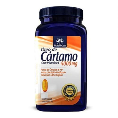 Óleo de Cártamo + Vitamina E 4000mg - 120 Cápsulas - Naturelab no Atacado