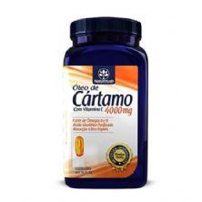 Óleo de Cártamo + Vitamina E 4000mg - 60 Cápsulas - Naturelab