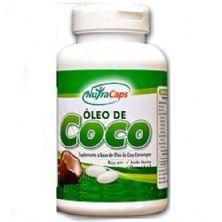 Óleo de Coco - 120 Cápsulas - NutraCaps