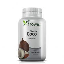 Oleo de Côco 1g - 60 Cápsulas - Fitoway