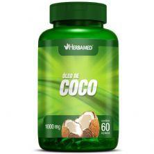 Óleo de Coco - 60 Cápsulas - Herbamed