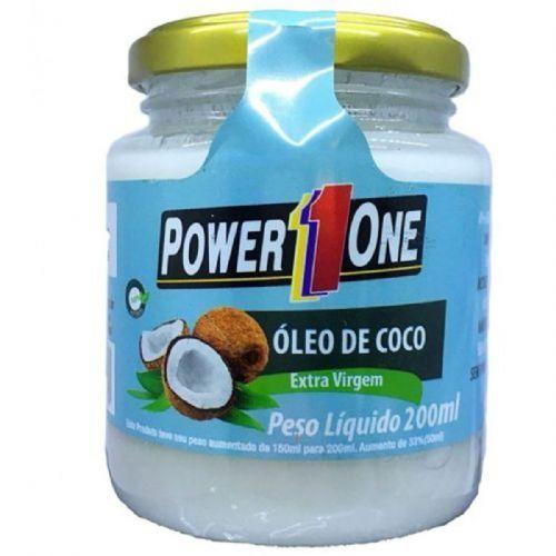 Óleo de Côco Extra Virgem - 200ml - Power One no Atacado