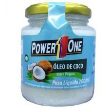 Óleo de Côco Extra Virgem - 200ml - Power One