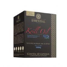 Óleo de Krill - 60 Cápsulas 500 mg - Essential Nutrition*** Data Venc. 31/12/2018