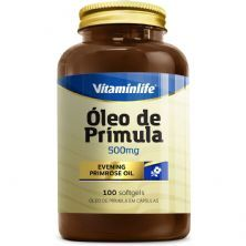 Óleo de Prímula 500mg  - 100 Softgels - VitaminLife