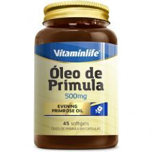 Óleo de Prímula 500mg - 45 Softgels - VitaminLife