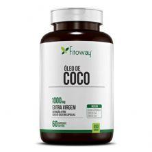 Óleo do Coco - 60 Cápsulas - Linha Farma -  Fitoway*** Data Venc. 26/07/2020