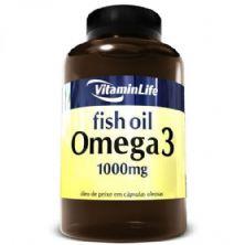 Omega 3 1000mg - 120 Cápsulas - VitaminLife*** Data Venc. 30/05/2019