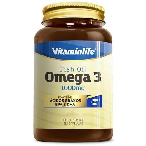 Omega 3 1000mg - 60 Cápsulas - VitaminLife no Atacado