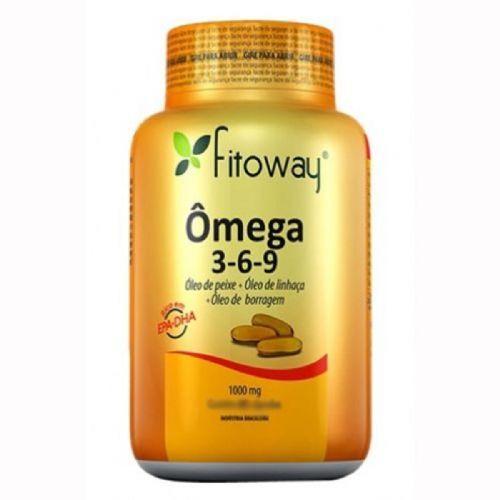 Omega 3-6-9 - 120 Cápsulas - Fitoway no Atacado