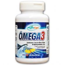 Ômega 3 500mg - 60 Cápsulas - NutraCaps