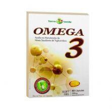 Omega 3 - 60 Cápsulas 500mg Soft Gel - Terra Verde