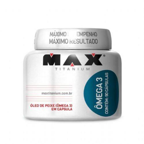 Ômega 3 - 90 Cápsulas - Max Titanium no Atacado