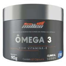 Ômega 3 - Com Vitamina E - 60 Cápsulas  - New Millen