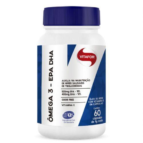 Omega 3 EPA DHA - 60 Cápsulas 1g - Vitafor no Atacado