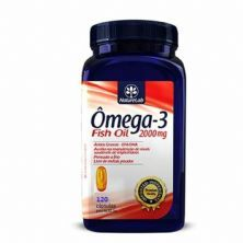 Ômega-3 Fish Oil 2000mg - 120 Cápsula - Naturelab