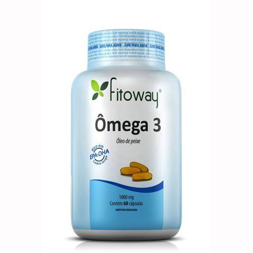 Omega 3 - 60 Cápsulas - Fitoway no Atacado