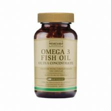 Omega 3 Ultra Concentrate - 240 Softgels - Natures Gold