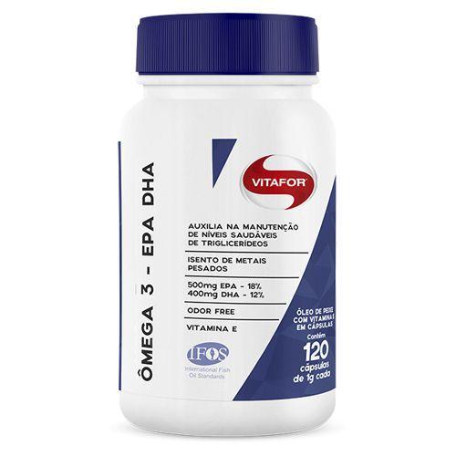Omegafor - 120 Cápsulas 1g - Vitafor