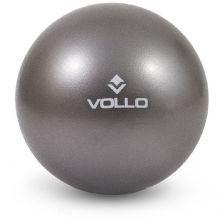 Overball Mini Bola De Exercícios - 25 cm Cinza - Vollo Sports