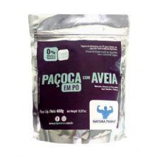 Paçoca Zero Açúcar c/ Aveia em Pó - 480g Natura Peanut*** Data Venc. 28/02/2019