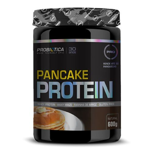 Pancake Protein - Natural 600g - Probiótica