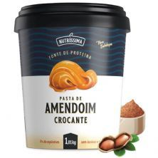 Pasta Amendoim Integral - 1010g Crocante -  Nutríssima