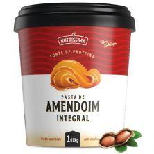 Pasta Amendoim Integral - 1010g Lisa -  Nutríssima