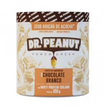 Pasta de Amendoim - 650g Chocolate Branco com Whey Isolado - Dr. Peanut