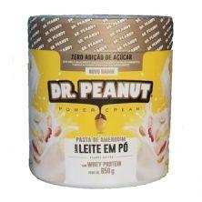 Pasta de Amendoim - 650g Leite em Pó com Whey Isolado - Dr. Peanut