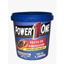 Pasta de Amendoim Chocolate com Avelã - 1005g - Power One
