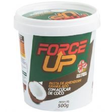 Pasta de Amendoim Granulado com Açúcar de Côco - 500g - Force Up