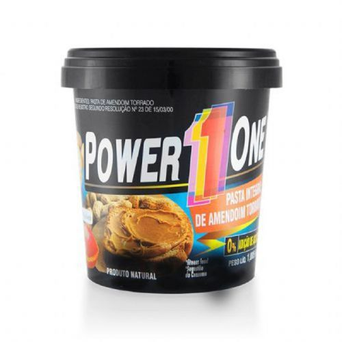 Pasta de Amendoim Integral - 1005g - Power One no Atacado