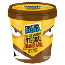 Pasta de Amendoim Integral - 1005g Granulado - Proteína Pura