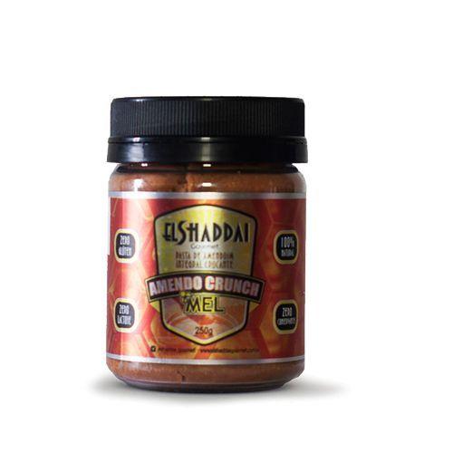 Pasta de Amendoim Integral Crocante com Mel 250g - El Shaddai Gourmet*** Data Venc. 30/11/2017
