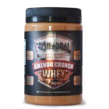 Pasta de Amendoim Integral Crocante com Whey Protein - 1005g - El Shaddai Gourmet