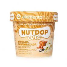 Pasta de Amendoim Nutdop One - 1 Unidade 60g Baunilha Caramelizada - ElementoPuro