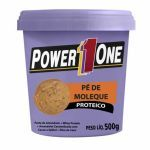Pasta de Amendoim Pé de Moleque - 500g - Power One no Atacado
